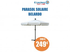 latest parasol solaire belardo with parasol leclerc. Black Bedroom Furniture Sets. Home Design Ideas