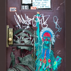 Door of Miss Liberty
