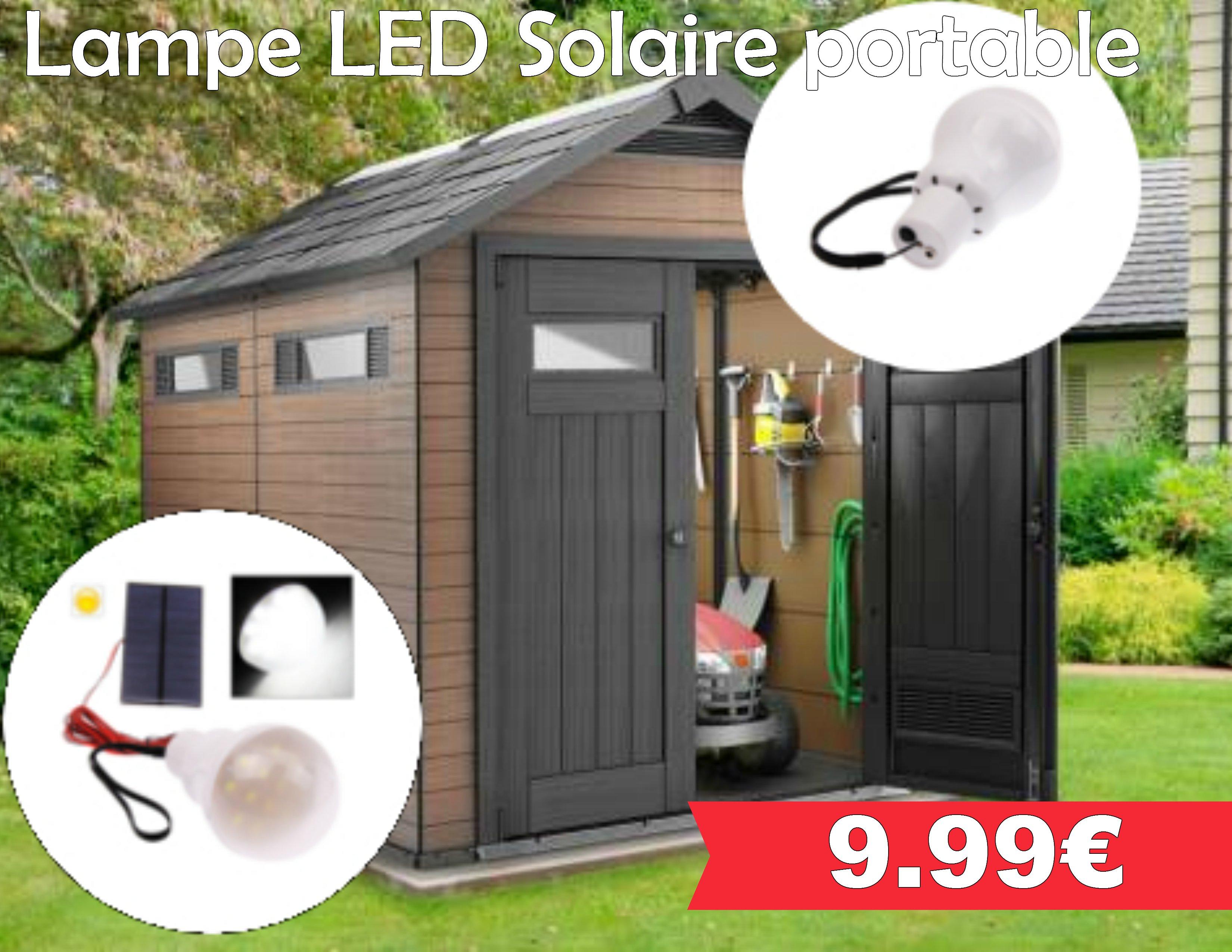 lampe led solaire portable leclerc pont l 39 abb. Black Bedroom Furniture Sets. Home Design Ideas