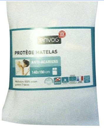 Protège Matelas 140×190 cm