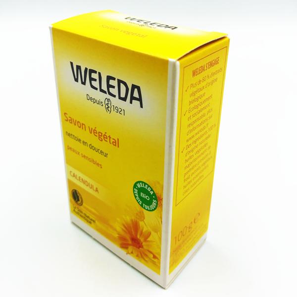 Savon végétal au calendu Weleda 100g
